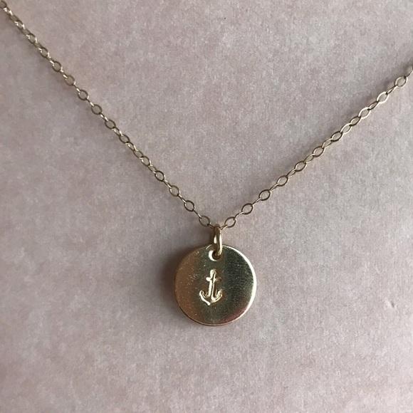 Katrina cordova jewelry anchor pendant necklace by poshmark anchor pendant necklace by katrina cordova aloadofball Image collections